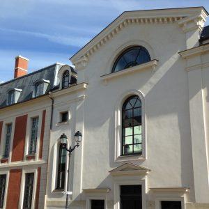 SA HLM IRP_Résidence pour étudiants_Versailles L'Orangerie_Vue extÇrieure_Rue